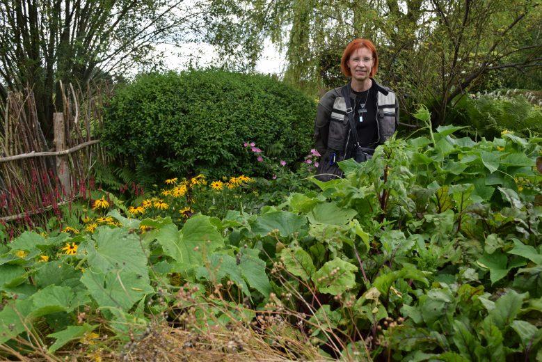 Bild von Hochbeeten im Roji-Garten in Bartschendorf im Havelland