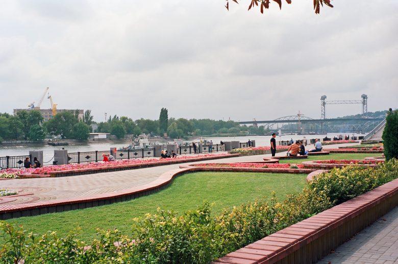 Bild von der Uferpromenade am Don in Rostow n. D. (Russland)