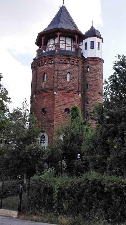 Bild des Wasserturms auf dem Funkerberg in Königs Wusterhausen