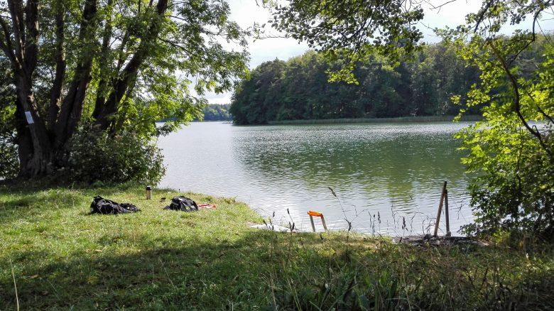 Bild von einem Picknick am Kalksee, Lkr. Neuruppin in Brandenburg