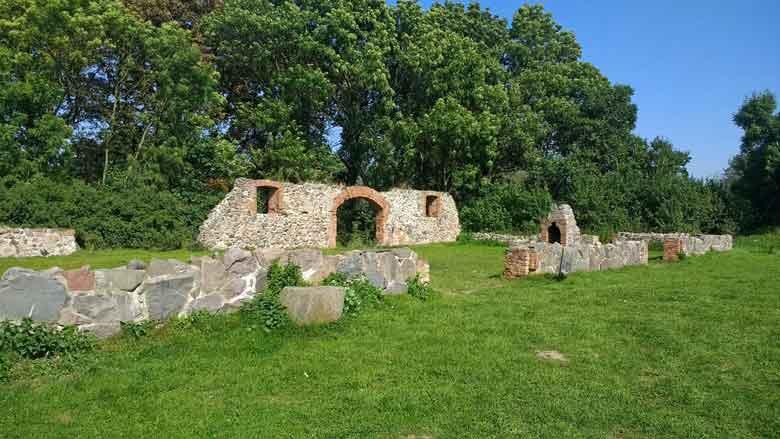 Bild von einem alten Schafstall in Liepen Mueritz-Nationalpark