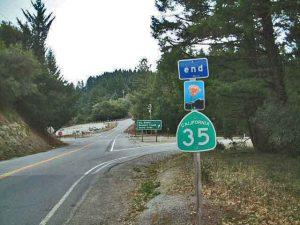 Kreuzung CA 35