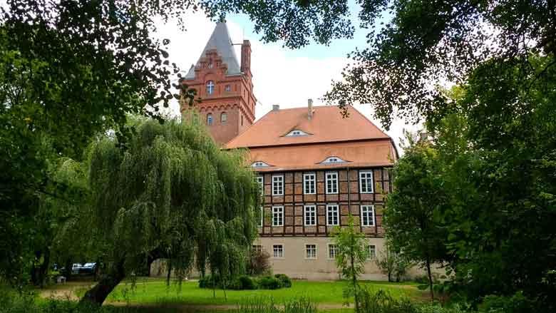 Bild von der Plattenburg bei Bad Wilsnack in der Prignitz