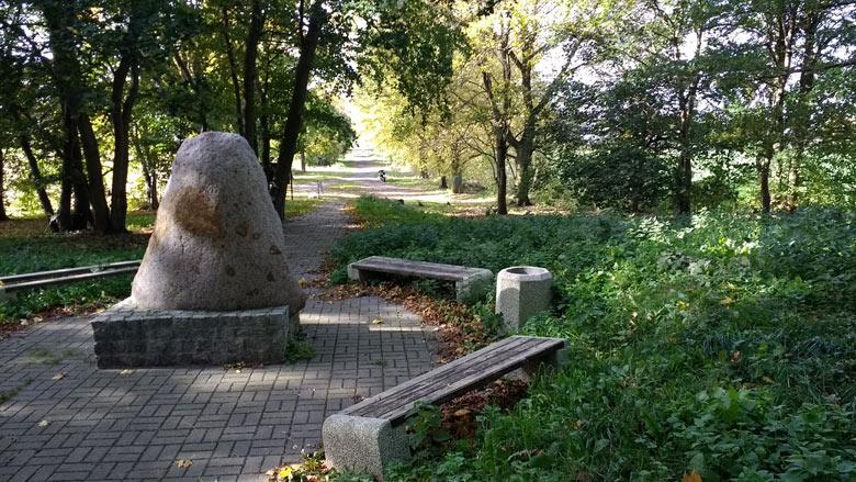 Gedenkstein für die Schlacht bei Zorndorf (Sarbinowo) im Siebenjährigen Krieg