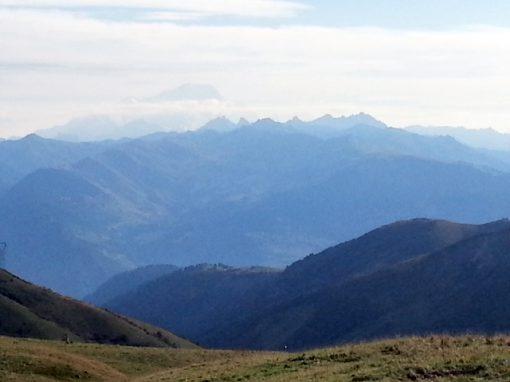 Bild vom Alpenblick von der Chartreuse