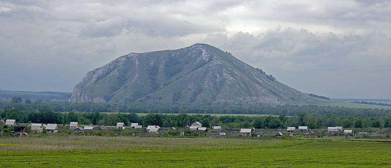 Bild vom Berg Juraktau in Baschkortostan bei Sterlitamak im Südural in der Russischen Föderation