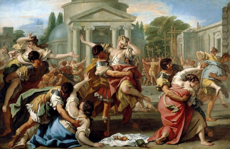 Sebastiano Ricci, Der Raub der Sabinerinnen