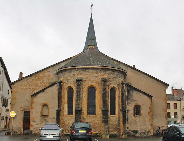 Romanischen Kirche St-Nicolas Marcigny Burgund