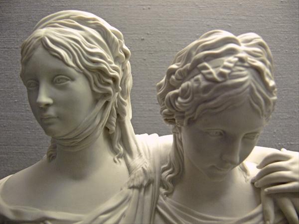 Prinzessinnengruppe Luise und Friederike von Johann Gottfried Schadow (1764 - 1850)