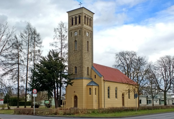 Bild Schinkelsche Normalkirche Germendorf, Landkreis Oberhavel