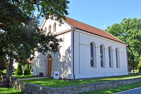 Schinkelsche Normalkirche Krangen, Lkr. Ostprignitz-Ruppin im Bild