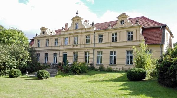 Schloss Köpernitz, Parkseite