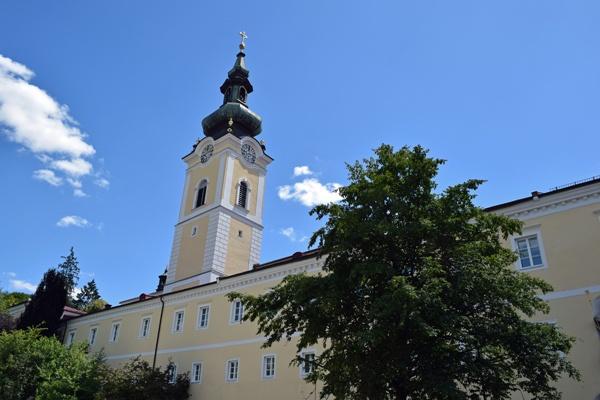Bild vom Praemonstratenserstift Schlägl im Mühlviertel in Oberösterreich