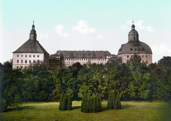 Bild vom Schloss Friedenstein Gotha
