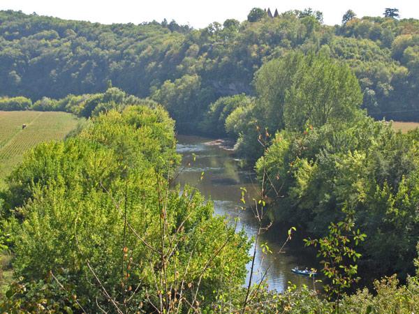 Eindrücke vom Tal der Vézère im Périgord bei einer Motorradtour Südwestfrankreich Teil 1