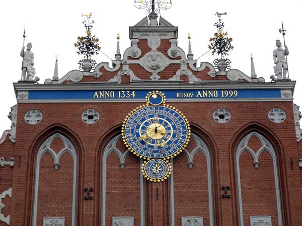 Haus der Schwarzhäupter-Gilde in Riga
