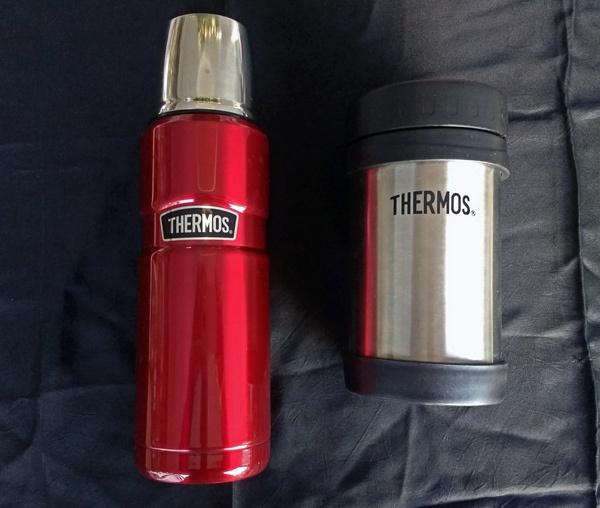 Thermosbehälter als Geschenkidee für Motorradfahrerinnen