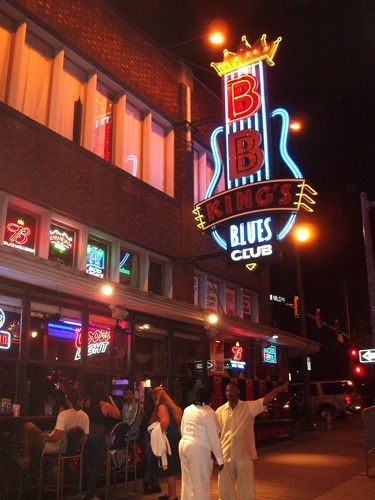 BB King-Club in Memphis, TN