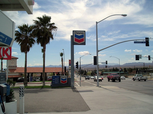 Tankstelle in Barstow, CA