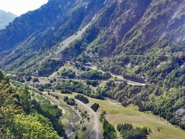 Auffahrt zum Col du Galibier