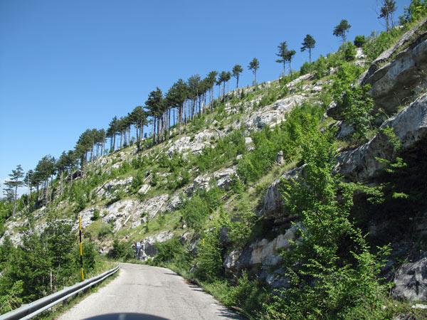 Passo di Lanciano in den südlichen Abruzzen