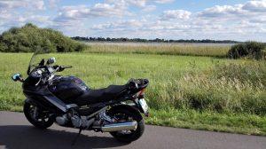 Rietzer See Motorrad Pause