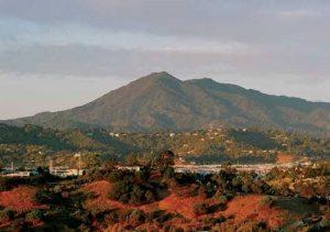 Bild vom Mt. Tam in Marin Co., Kalifornien, USA