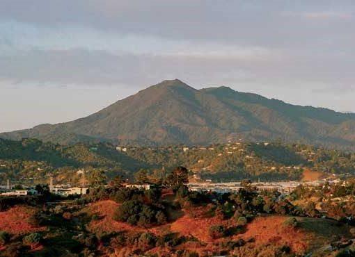 Mt. Tam in Marin Co., Kalifornien, USA