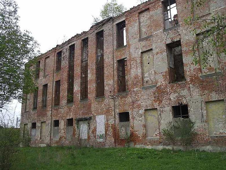 Ruine des Ordensschlosses Sonnenburg (Słońsk) in der Neumark