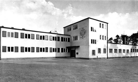 """Ehem. Reichsseesportschule """"Gorch Fock"""" in Prieros im Landkreis Dahme-Spreewald in einer alten Ansicht"""