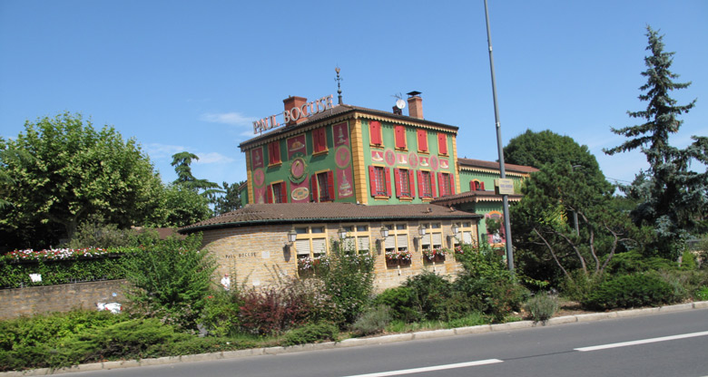 Restaurant Paul Bocuse in Collonges-au-Mont-d'Or bei Lyon