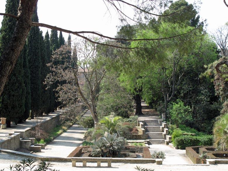 Botanischer Garten von Montpellier