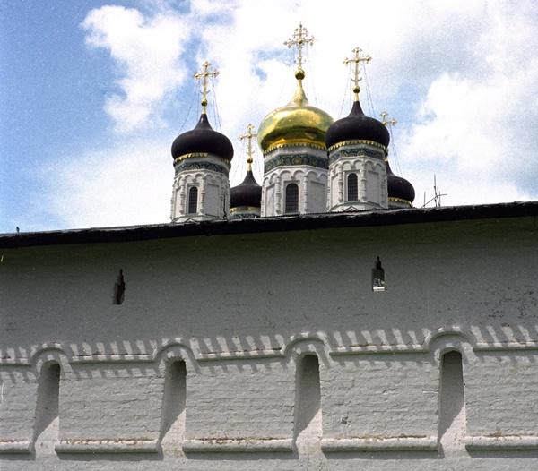 Dreifaltigkeitskloster Sergijew Posad in Russland mit Zwiebeltürmen