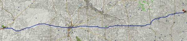 5. Etappe einer USA-Motorradtour vom Pazifik zum Atlantik