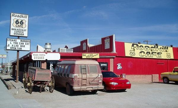 Roadkill Cafe in Seligman, AZ