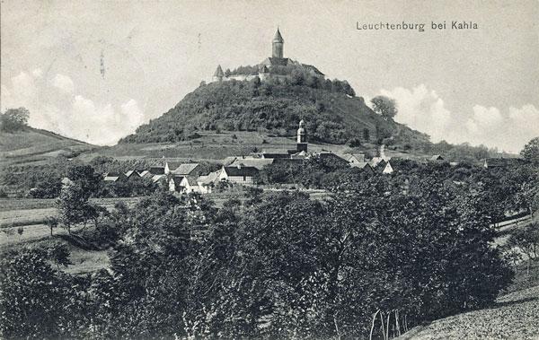 Leuchtenburg bei Kahla in Thüringen