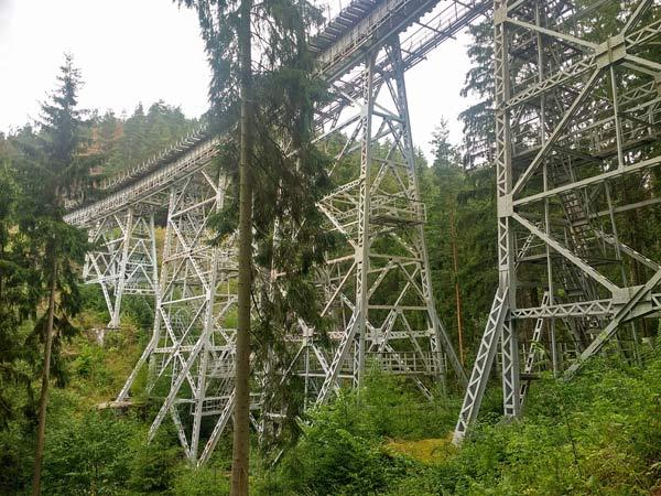 Ziemestalbrücke im Thüringer Wald