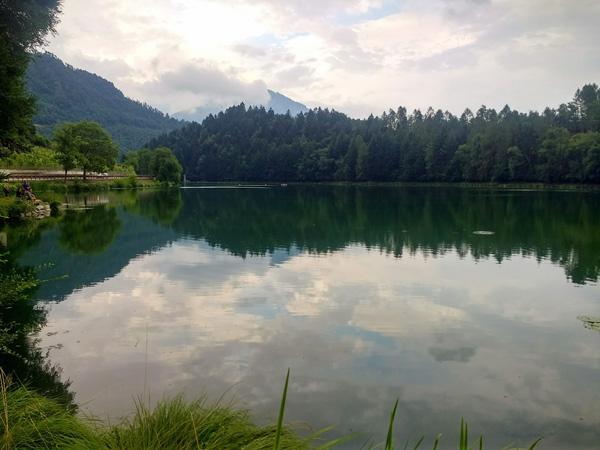 Lago di Canzolino bei Pergine