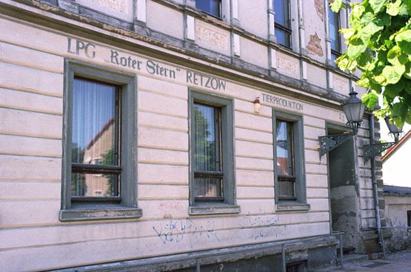 LPG Roter Stern Retzow, Lkr. Havelland, Brandenburg