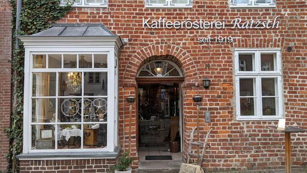 Kaffee auf der Motorradtour: Kaffeerösterei Ratzsch in Lüneburg