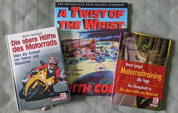 Bücher zur Vorbereitung auf den Motorrad-Saisonstart