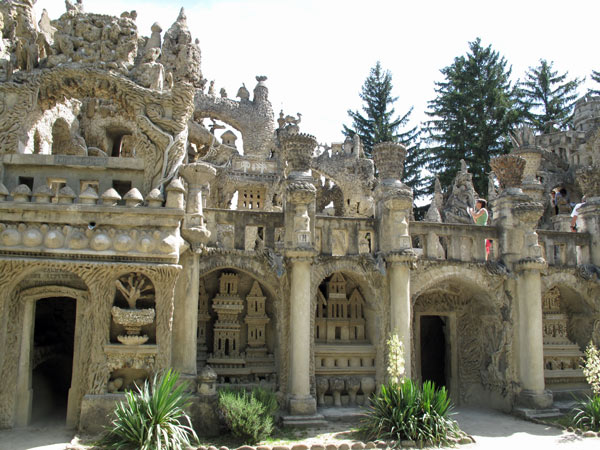 Palais Ideal in Hauterives, Frankreich