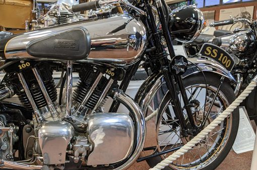 brough superior ss 100 im national motorcycle museum birmingham