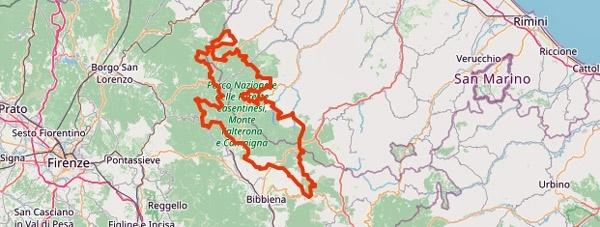 Tourentipps für den Motorradurlaub 2021: die Foreste Casenatenensi