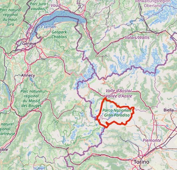 Tourentipps für den Motorradurlaub 2021: der Gran Paradiso in Piemont/Aostatal
