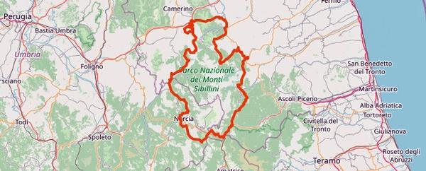 Tourentipps für den Motorradurlaub 2021: der Nationalpark Monti Sibillini