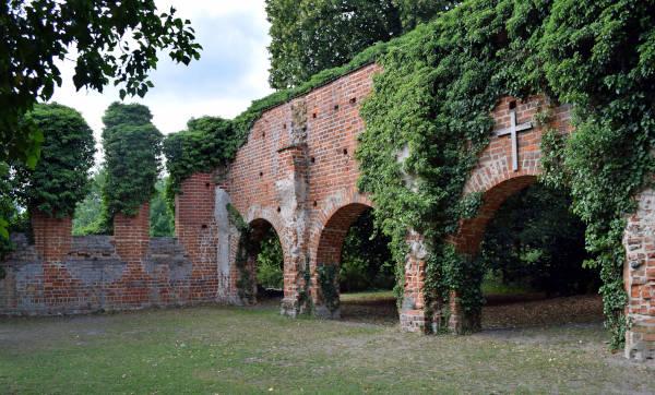 klosterruine himmelpfort in brandenburg