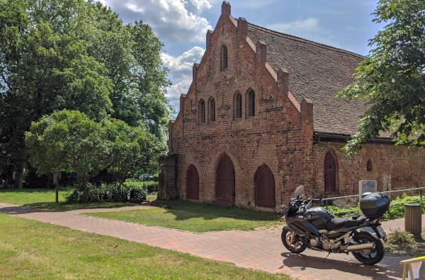ehemaliger kornspeicher des klosters lehnin brandenburg