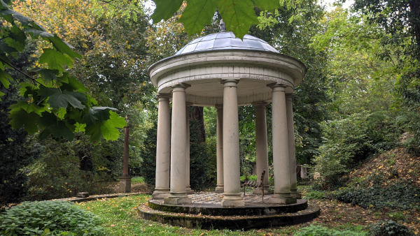 pavillon schlosspark blankensee