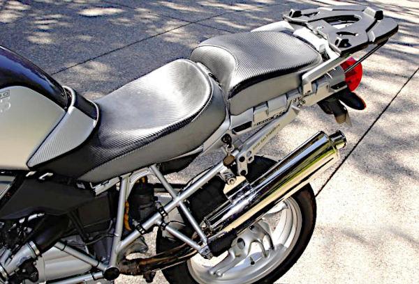 langstreckenkomfort auf dem motorrad: corbin sattel auf bmw r 1200 gs